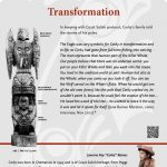 A plaque containing information about Transformation Totem